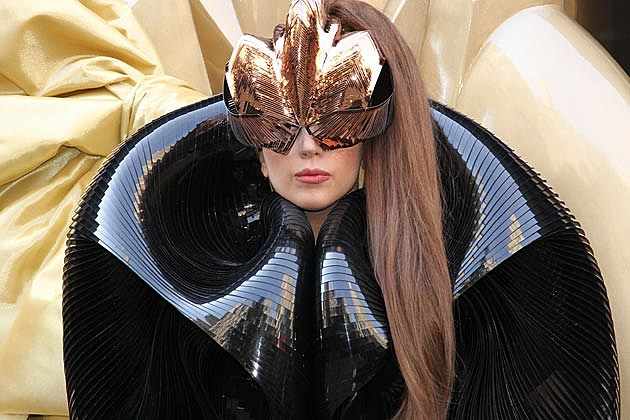 Lady Gaga Wears Cage Headgear As Stylist Says He Regrets Some of Her Looks
