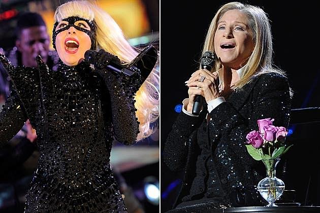 Lady Gaga Barbra Streisand