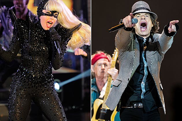 Lady Gaga to Perform With the Rolling Stones in New Jersey