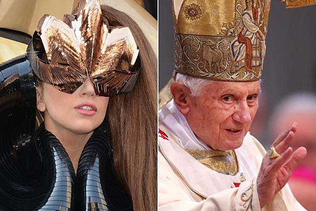 Can the Pope Conquer Lady Gaga's Twitter Following?