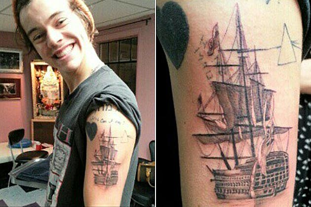 Harry Styles Tattoo