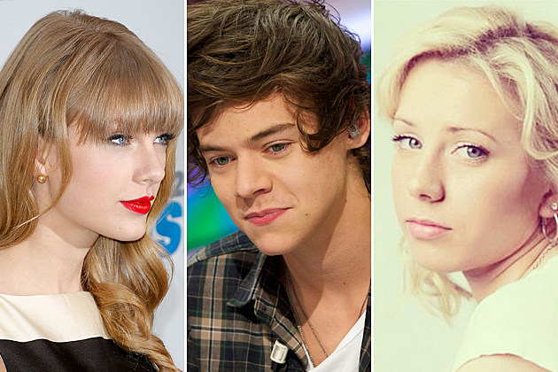 Taylor Swift, Harry Styles, and Hailie Mathers