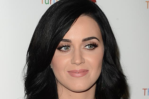 Katy Perry is a Goddess in Green at Carole King Music Celebration