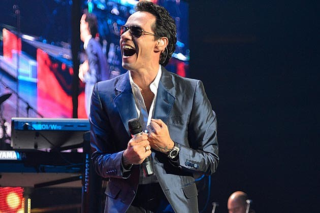 Marc Anthony Releasing Salsa Album in 2013