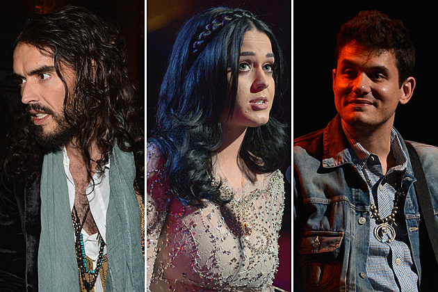 Russell Brand Katy Perry John Mayer