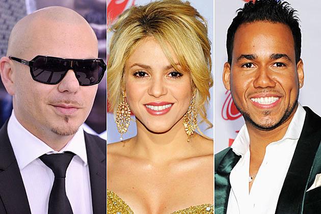 Shakira Pitbull Romeo Santos