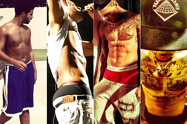 Drake vs. Chris Brown: Who Has the Hottest Shirtless Bod? – Readers Poll