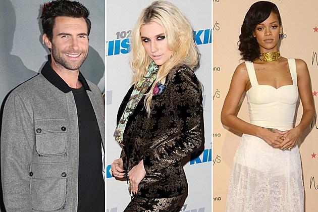 Top 40 Pop Songs – December 2012
