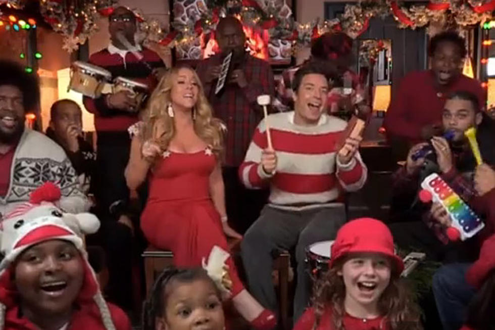 Mariah Carey, Jimmy Fallon, the Roots + Kids Perform \'All I Want for ...