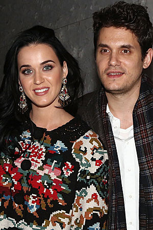 Katy Perry + John Mayer Take His Dad Out for Broadway Dinner Date
