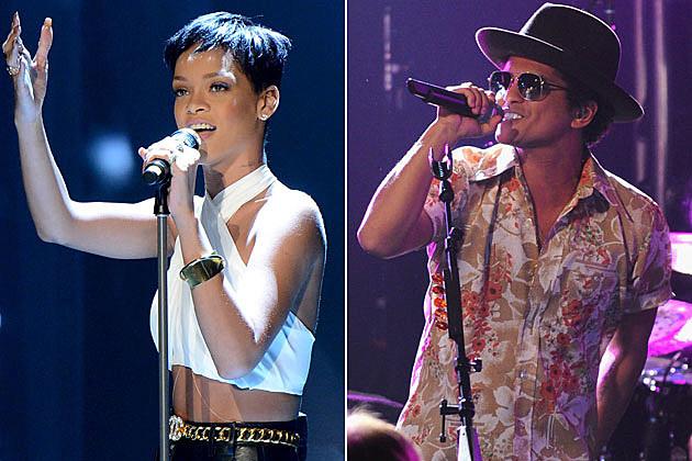Rihanna Bruno Mars