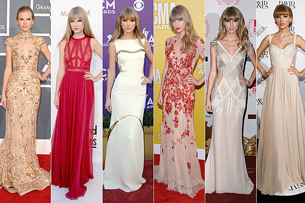 Taylor Swift Best Dresses 2012