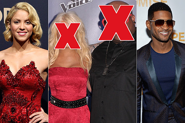 Do You Think Usher + Shakira Are Good Fits for 'The Voice' Coaching Panel? – Readers Poll