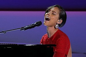 Alicia Keys inaugural ball
