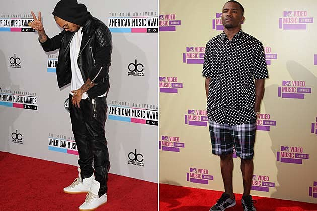 Chris Brown Frank Ocean Brawl