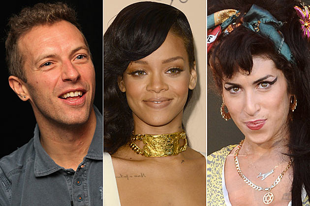 2013 BRIT Nominations: Coldplay, Rihanna + Amy Winehouse Honored