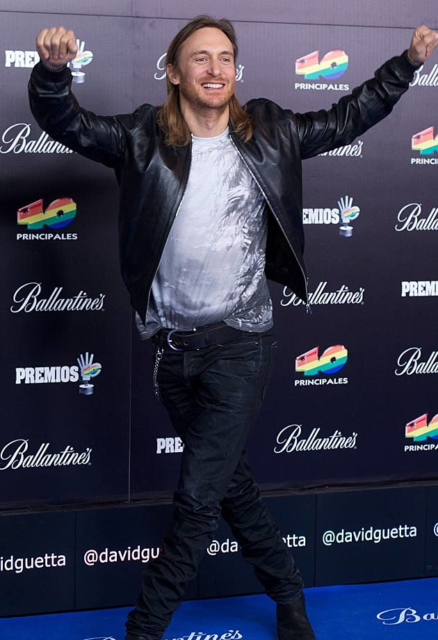 David Guetta 40 Principales Awards