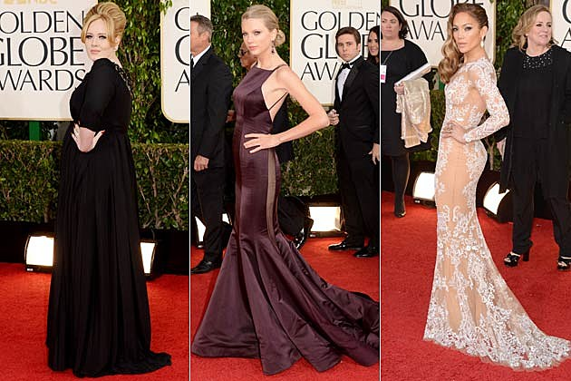 Golden Globes 2013 Dresses