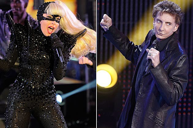 Lady Gaga Barry Manilow