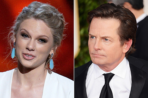 Taylor Swift Michael J. Fox