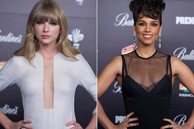 Taylor Swift Alicia Keys 40 Principales Awards