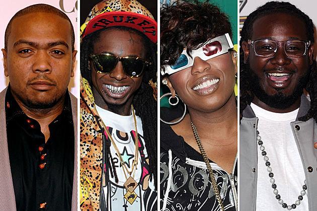 Timbaland Lil Wayne Missy Elliott T-Pain