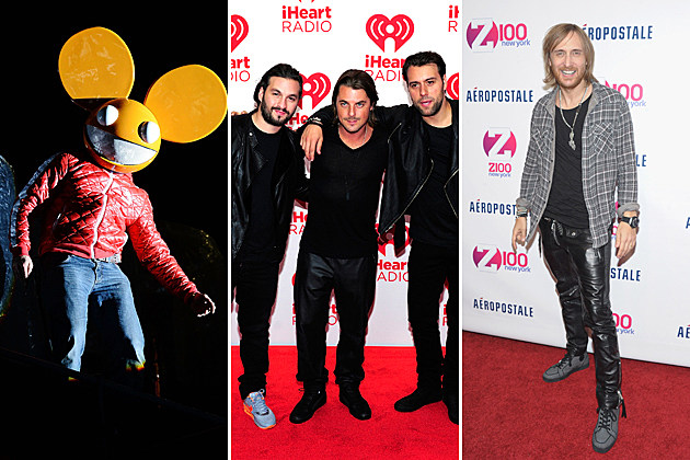 Deadmau5 Swedish House Mafia David Guetta