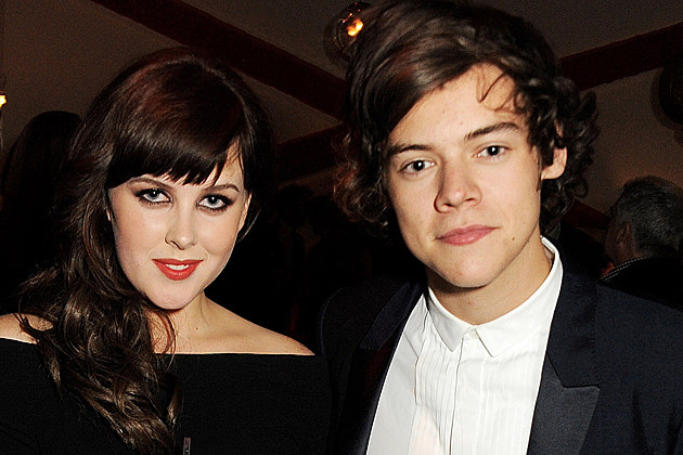 Harry Styles Attends GQ Party With Jessie J + Tinie Tempah, Goes Home With Welsh Actress