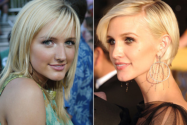 Ashlee Simpson Before and After Plastic Surgery