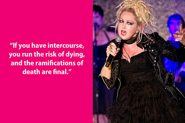 Cyndi Lauper Dumb Quote