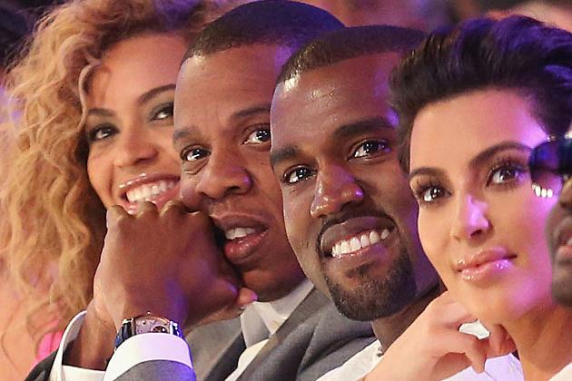 Beyonce Jay-Z Kanye West Kim Kardashian