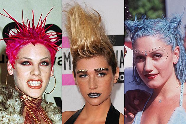 Pink Bad Hair Kesha Bad Hair Gwen Stefani Bad Hair