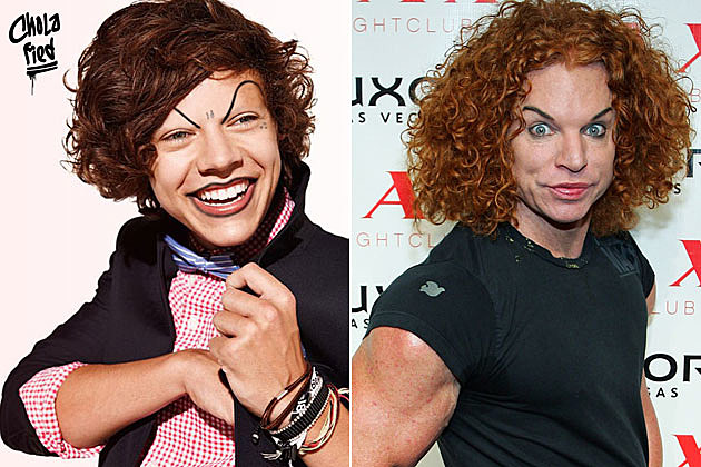 Cholofied Harry Styles Carrot Top