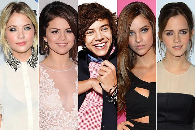 Ashley Benson Selena Gomez Harry Styles Barbara Palvin Emma Watson