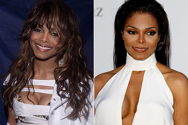 Janet Jackson Before and After Plastic Surgery