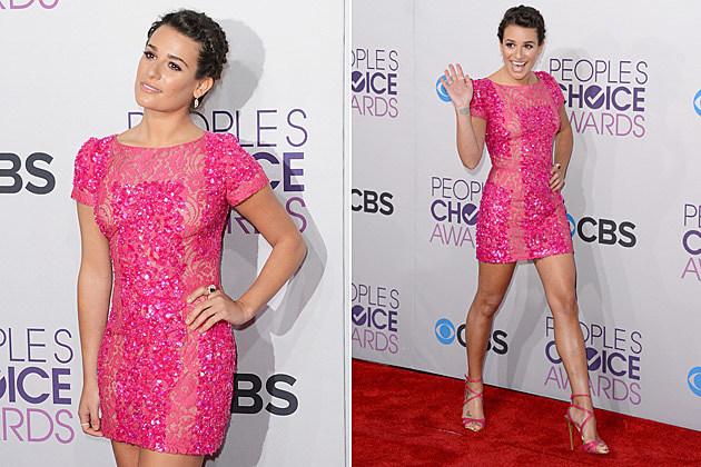 Lea Michele 2013 Peoples Choice Awards