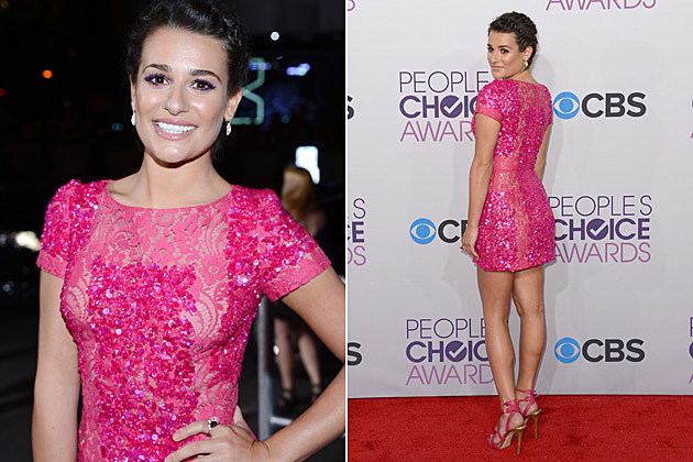 Lea Michele 2013 Peoples Choice Awards