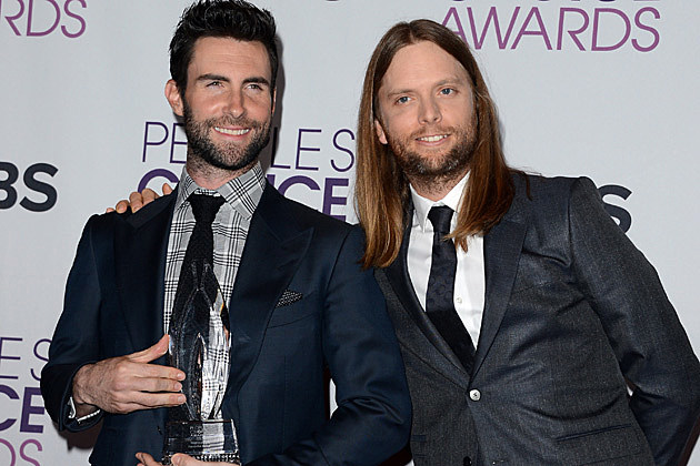 Maroon 5 2013 Peoples Choice Awards