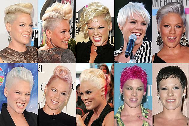 Pink Hairdos
