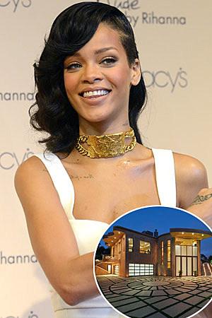 Rihanna Mansion