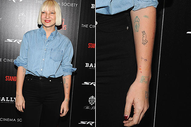 Sia Tattoo