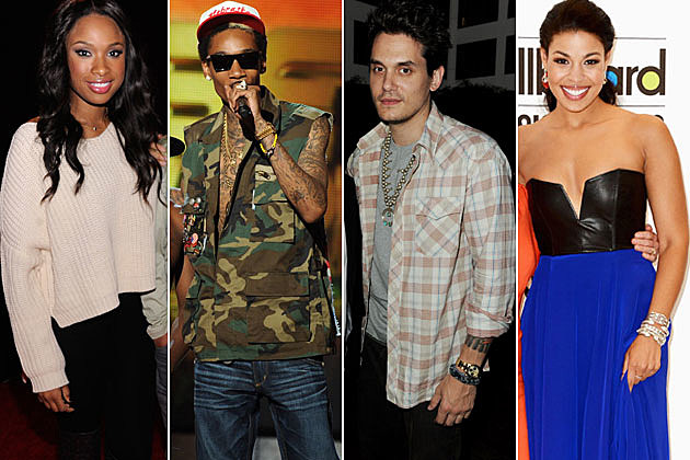 Wiz Khalifa Jennifer Hudson John Mayer Jordin Sparks