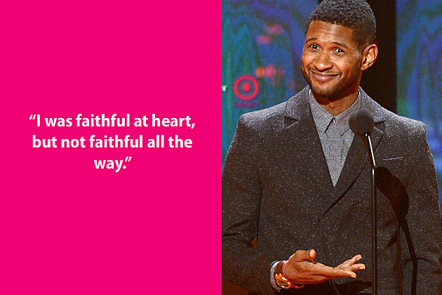 Usher Dumb Quote