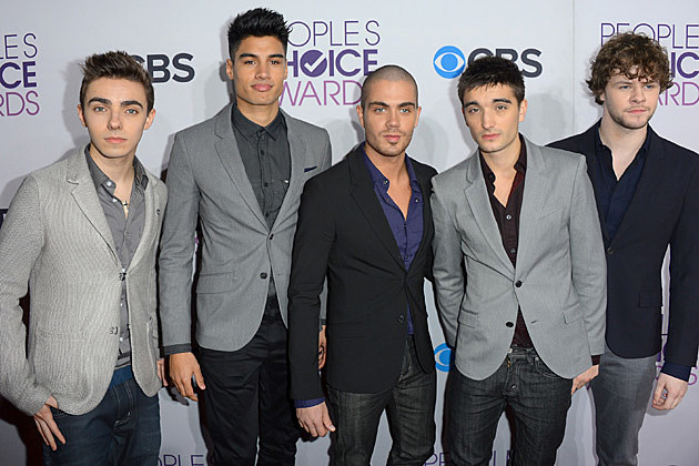 The Wanted 2013 Peoples Choice Awards