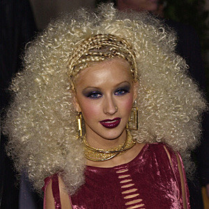 Christina Aguilera Bad Hair