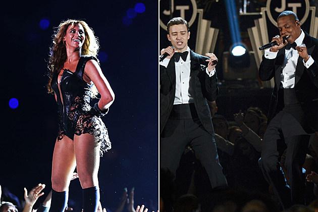 Beyonce Justin Timberlake Jay-Z