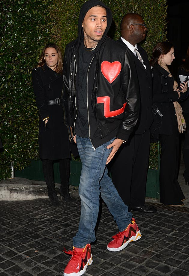 Chris Brown Topshop Topman