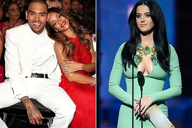 Chris Brown RIhanna Katy Perry