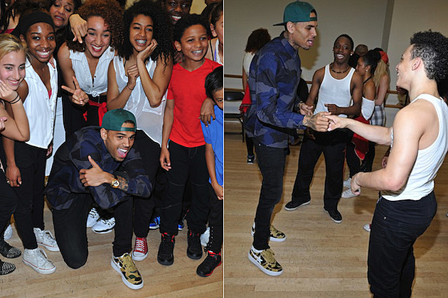 Chris Brown Debbie Allen Dance Academy