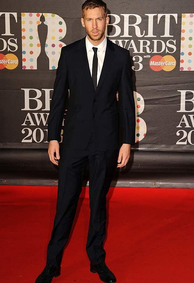 Calvin Harris 2013 BRITs